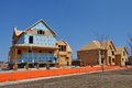 New home construction an image of Royalty Free Stock Photography