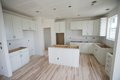 New Home Kitchen construction Royalty Free Stock Photo