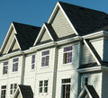 New Homes Row Housing Royalty Free Stock Photo
