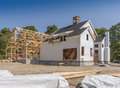 New House Construction Royalty Free Stock Photo