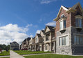 NEW HOUSES IN GREAT TORONTO AREA Royalty Free Stock Photo