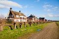 New houses in the tabakssteeg leusden the netherlands Royalty Free Stock Photos