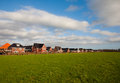 New houses in the tabakssteeg leusden the netherlands Stock Photo