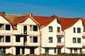 New houses development Royalty Free Stock Photo
