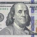 New hundred dollars bill Royalty Free Stock Photo