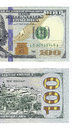 New hundred dollars bill right half of face back of Royalty Free Stock Photo