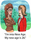 Is the new i m into age my age Royalty Free Stock Photos