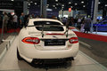 New jag sports car rear Royalty Free Stock Photo