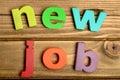New Job word