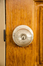 New lock door Royalty Free Stock Photo