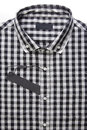 New men s shirt and blank label a Stock Images