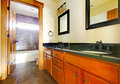 New modern beautiful bathroom in  luxury home interior. Royalty Free Stock Photo