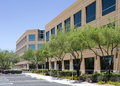 New modern corporate office building exterior Royalty Free Stock Photo
