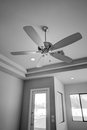 New Modern Home Ceiling Fan Royalty Free Stock Photo