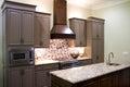 New Modern Kitchen Royalty Free Stock Photo