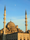 The New Mosque in Istanbul Royalty Free Stock Photo
