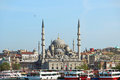 New Mosque, Istanbul, Turkey Royalty Free Stock Photo
