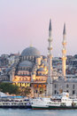 New mosque in Istanbul, Turkey. Royalty Free Stock Photo