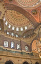 New mosque yeni camii istanbul view of Stock Image