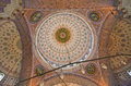 New mosque yeni camii istanbul view of Stock Images