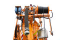 New multipurpose industrial combine machine Royalty Free Stock Photo