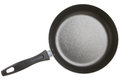 New non stick frying pan isolated on white Stock Images