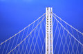 New Oakland Bay Bridge in San Francisco - California Royalty Free Stock Photo