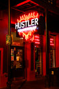New Orleans  Bourbon Street Hustler Adult Store Royalty Free Stock Photo
