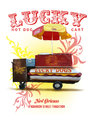 New Orleans Culture Collection Lucky Dog Hot Dog Cart
