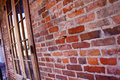 New Orleans French Quarter Brick Wall Stock Photos
