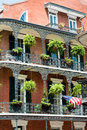 New orleans french quater Royalty Free Stock Images