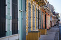 New orleans houses a rustic set of doors and shutters in the french quarter usa Royalty Free Stock Images