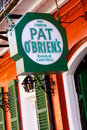 New Orleans Pat OBriens Bar Charlie Cantrell Stock Photography
