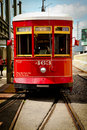 New Orleans - Street Car Stock Photography