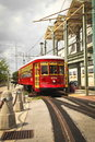 New Orleans Street car Stock Photos