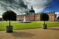 New Palace in Sanssouci Park, Potsdam, Stock Photo