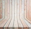 New pine wooden plank texture and background Royalty Free Stock Photo