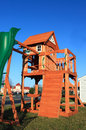 New Playground Equipment Royalty Free Stock Photo