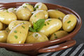 New Potatoes Steamed Royalty Free Stock Photo