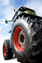 New power tractor Royalty Free Stock Photo