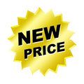 New Price Sign Stock Photos
