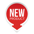 New Product round label Royalty Free Stock Photo