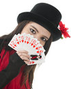 New Queen of Hearts Royalty Free Stock Photo