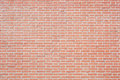 New red bricks wall texture background Royalty Free Stock Photo