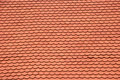 New red roof covers texture Stock Photos