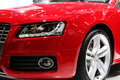 New red sport car Royalty Free Stock Photo