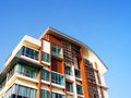 New residential apartments details Royalty Free Stock Photo
