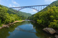 New River Gorge Bridge Royalty Free Stock Photo