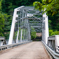 New river gorge scenics in mountains Stock Image