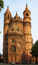 New-Romanesque Cathedral in Worms, Wormser Dom Royalty Free Stock Photo